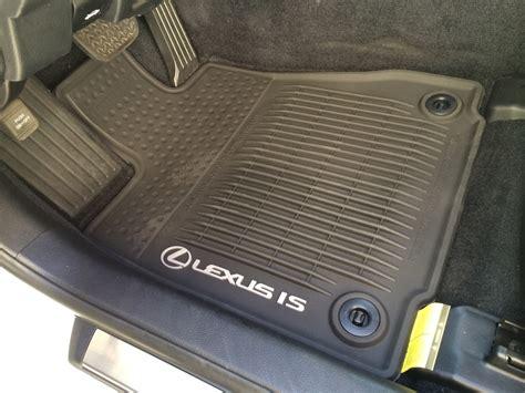 floor mats lexus 2014 lexus is 250 all weather floor mats my automotive adventures