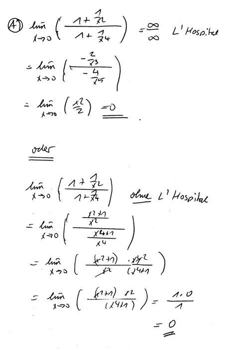 grenzwert berechnen mathelounge