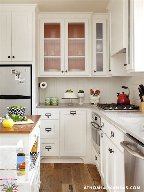 Gray Countertops  Cottage  Kitchen  At Home In Arkansas