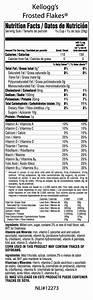 Corn Flakes Nutritional Information – Blog Dandk
