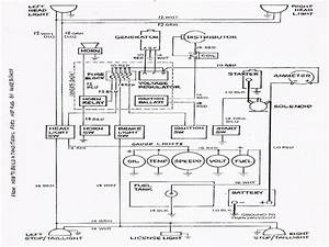 30 Diesel Tractor Ignition Switch Wiring Diagram