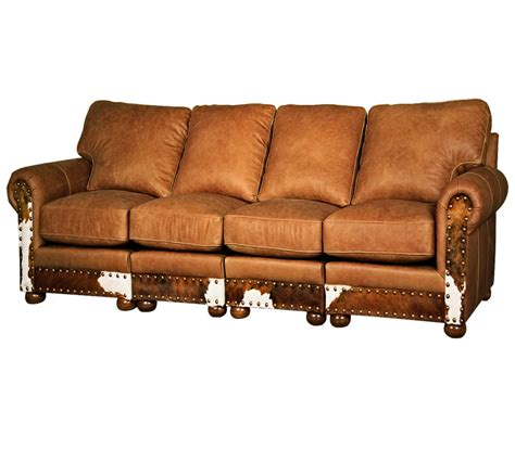 western leather sectional sofa western sectional sofa love this sofa would make a great