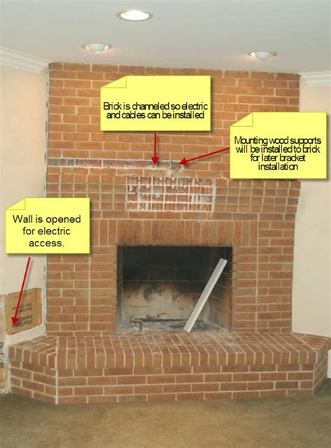 ideas  tv  fireplace  pinterest