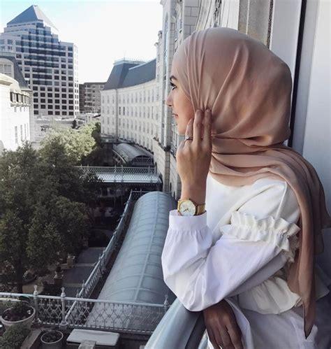 hidjab fashion style ete avec robe chic hijab fashion