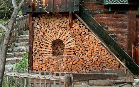 creative firewood storage ideas turning wood