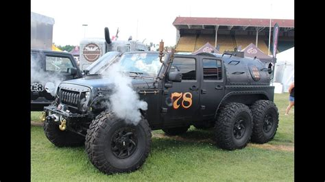 loco hauk steam powered jeep jk   totally unnecessary