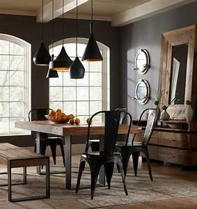 78 meilleures idees a propos de chaises de salle a manger for Deco cuisine avec chaise cuir noir salle manger