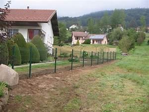 Cloture Jardin Bois : panneaux pour cloture de jardin ~ Premium-room.com Idées de Décoration