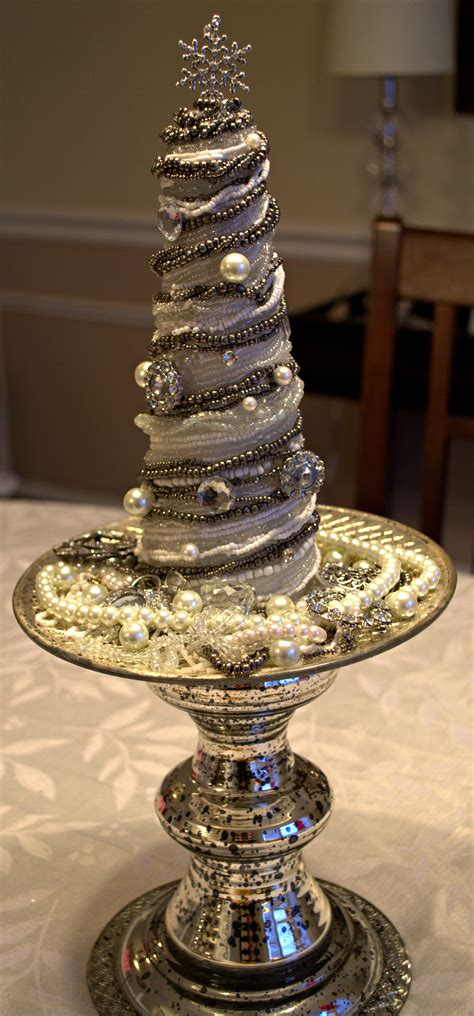 who to make a christmas tree from old tires vintage glam cone tree tutorial my of style my of style