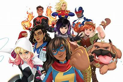Marvel Rising Avengers Super Secret Warriors War