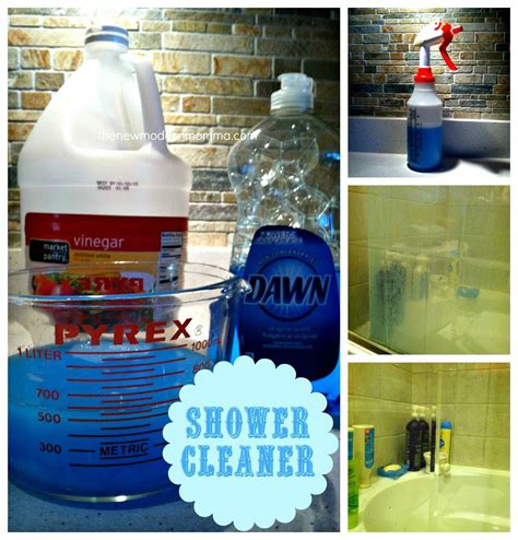vinegar and shower shower cleaner 1cup of white vinegar 2 cups of