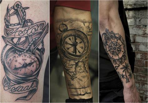 kompass unterarm kompass bedeutung der motive bilder und coole designs