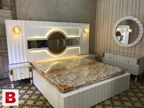 elegant designs bedroom furnitures karachi