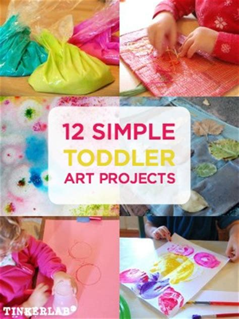 easy preschool art projects 12 projects for toddlers tinkerlab 428