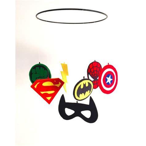 Kinderzimmer Ideen Superhelden by Handmade Marvel Nursery Mobile