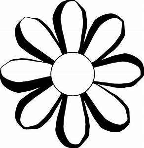 Black And White Images Of Flowers - ClipArt Best