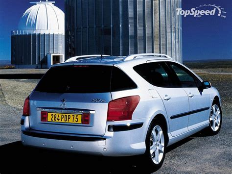 2004 Peugeot 407 Sw Picture 12404 Car Review Top Speed