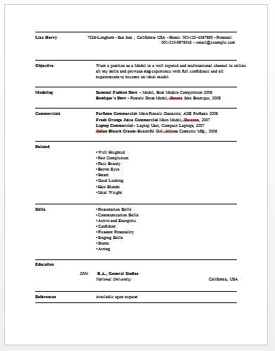 sle model resume best professional resumes letters