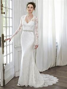 2016 vintage long sleeve white lace wedding dress online With stores that buy wedding dresses