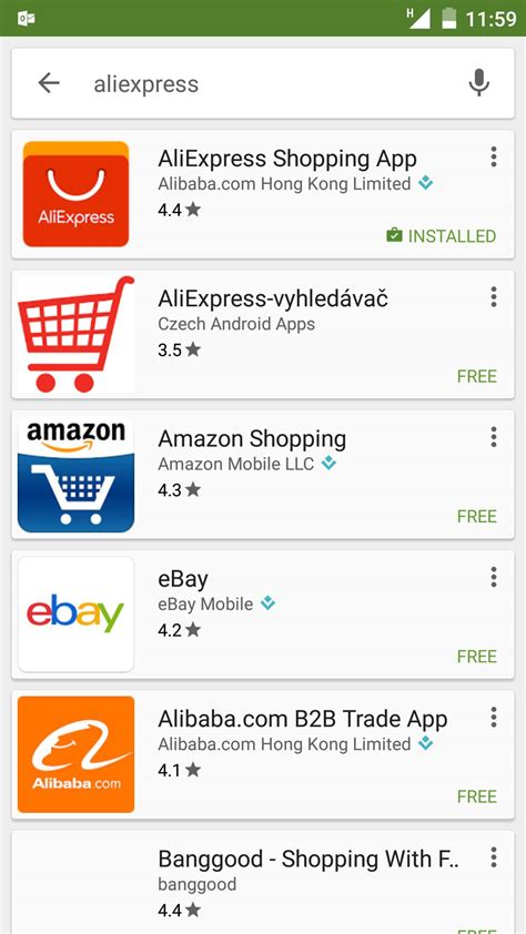 shopping  aliexpress mobile app  android