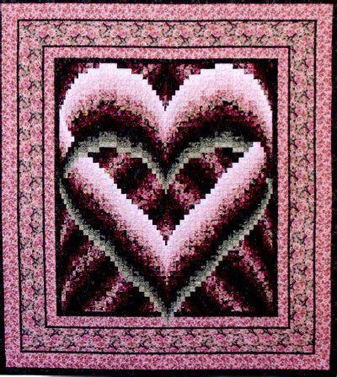 malindas heart quilt pattern log cabin quilt shop