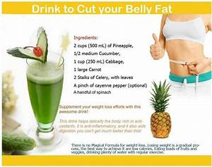 Drinks The Cut Your Belly Fat