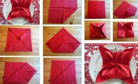 servietten falten blume servietten falten zu weihnachten 20 originelle tischdeko