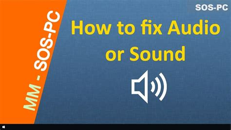 how to fix sound or audio problems windows 10 8 1 8 and