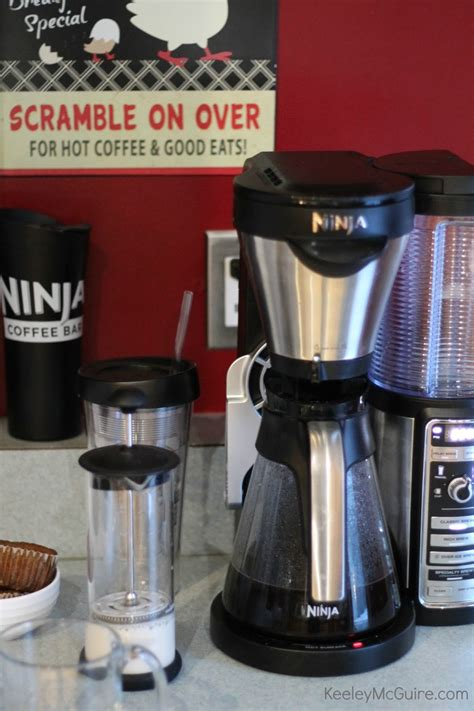 Remove from microwave, secure lid, and pump the frother 15 times. Gluten Free & Allergy Friendly: Ninja Coffee Bar {at Home ...