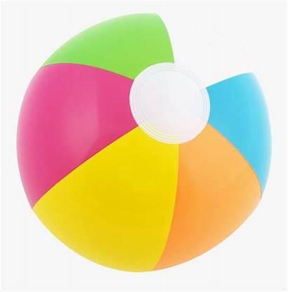 Ball Transparent Clipart Clip Pelota Balls Playa