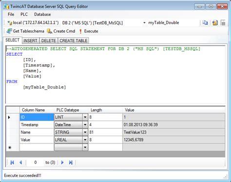 twincat  server xml configuration file editor