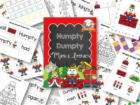 humpty dumpty nursery rhyme theme in preschool 510 | Printable Humpty Dumpty Nursery Rhyme Activities for Preschool
