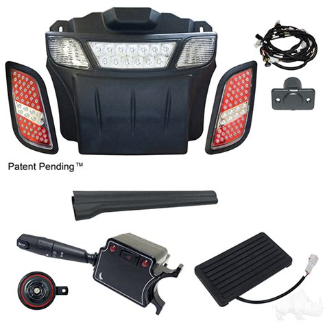 build your own led light bar kit e z go rxv 08 15