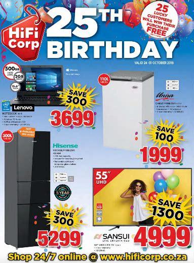 hifi corp  birthday sale  oct   oct
