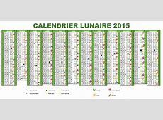 Calendrier lunaire 2019 Calendrier 2018 gratuit 2017
