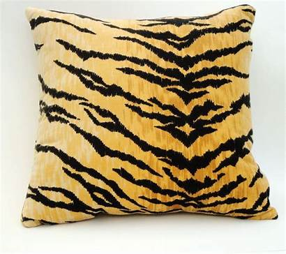 Tiger Pillow Pillows Gold Covers Throw Luxury