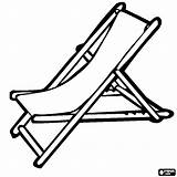 Chair Beach Coloring Pages Drawing Template Umbrella Getdrawings Sketch Summer Getcoloringpages Lawn sketch template