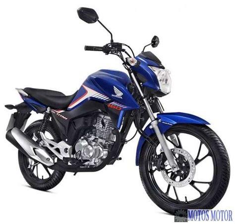 cg 160 titan e honda 160 fan 2018 187 motos motor