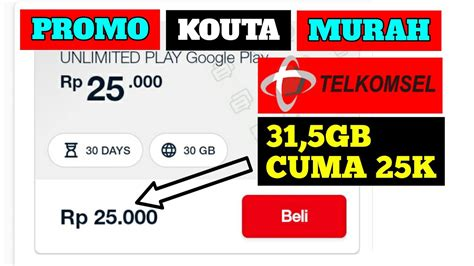 Selama ini provider di indonesia menggeber paket internet murah, kuota gratis, kuota internet murah hingga paket internet gratis. KOUTA 31,5GB CUMA 25rb | PAKET PROMO SUPER MURAH TELKOMSEL ...