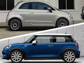 Fiat Mini Cooper 2017 mini cooper vs 2017 fiat 500 which is best
