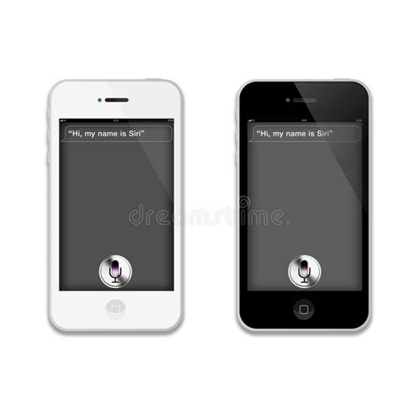 does iphone 4 siri siri on an apple iphone 4 s 5 editorial photography 16872