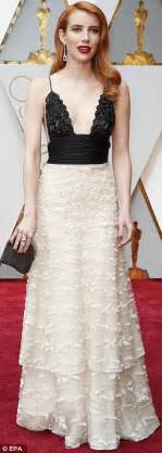 Emma Roberts told Julia to wear 'skunk' dress at Oscars ...