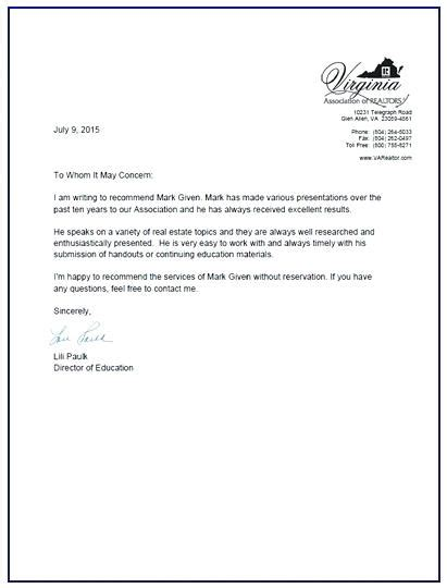 sle of recommendation letter letter of recommendation exles citybirds club 9957