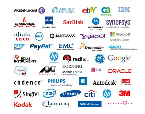 6 Best Images Of Technology Company Logos American