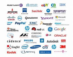 6 Best Images of Technology Company Logos - American ...