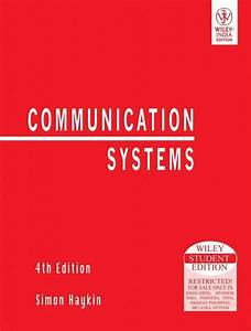 Carlson Communication Systems Solution Manual