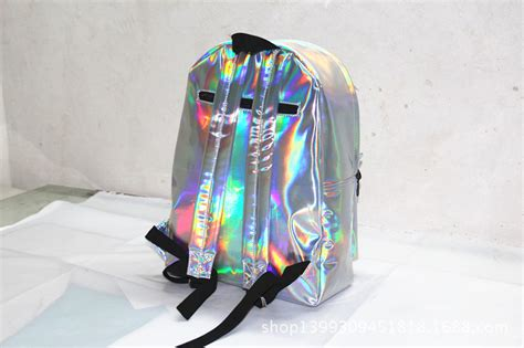 New Designer Hologram Transparent Girls Backpack Bookbag