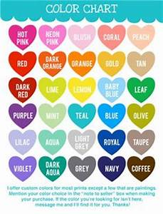 1000 Images About Colors On Pinterest Color Charts