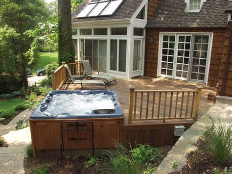 Tub On Deck by Do You Like Tubs On A Deck Or Built In Project