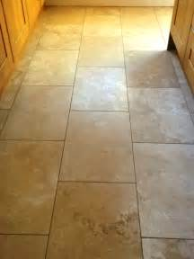 restoring the shine on a travertine floor tiles in haughley suffolk tile